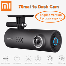 Xiaomi 70mai 1S APP Car DVR English Russian Voice Control 1080P Camera Smart WiFi Dash Cam Parking Monitor Starvis Night Vision