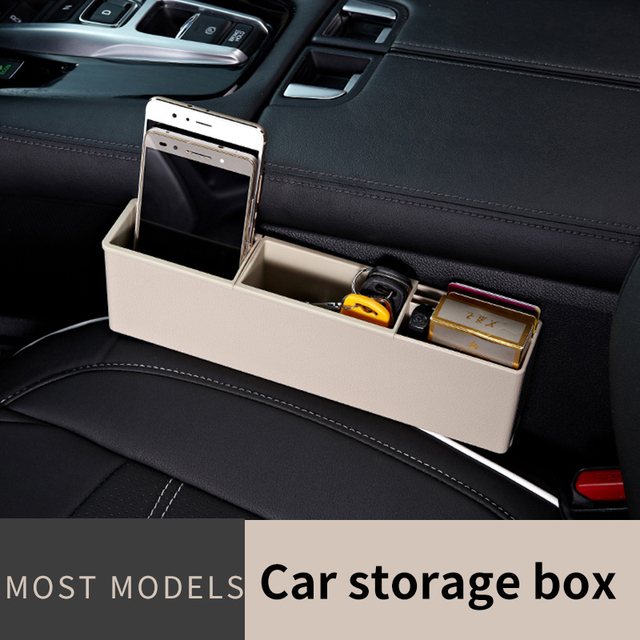 Atno Car seat blot storage box car door Interior Coin Case Auto Holder Container Organizer Multifunction & Atno Car seat blot storage box car door Interior Coin Case Auto ...
