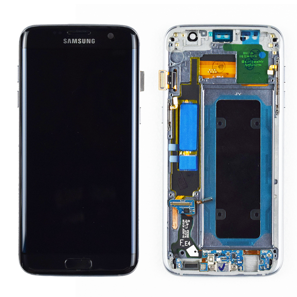 AAA ORIGINELE 5.5 ''SUPER AMOLED LCD met frame voor SAMSUNG Galaxy s7 edge G935 G935F Touch Screen Digitizer Display service Pack - 3
