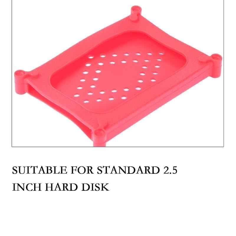 "Hot 2.5 ""HDD Case Bescherm Bag box voor Seagate Samsung WD Harde Schijf Siliconen Beschermhoes voor 2.5"" SATA/IDE HDD Harde Schijven"