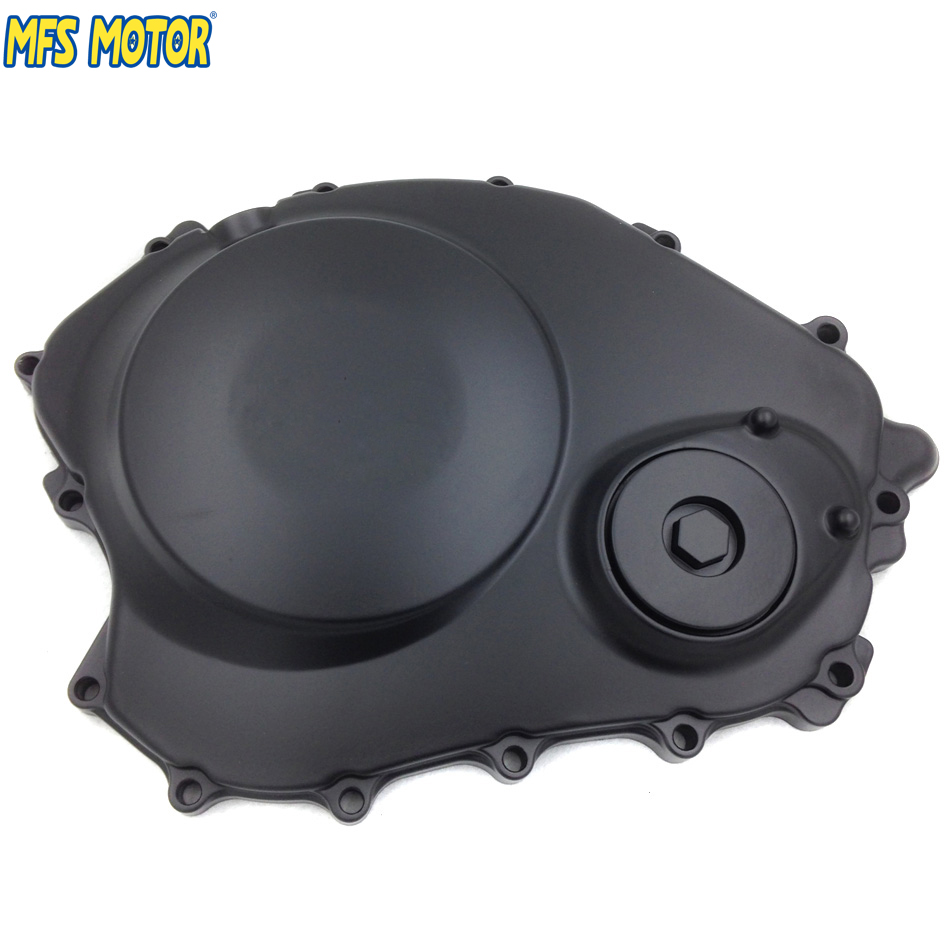 Motorcycle Right Engine Clutch cover For Honda CBR1000RR 2004 2005 2006 2007 Black aftermarket free shipping motorcycle parts for motorcycle honda cbr1000rr 2004 2007 04 07 engine clutch cover black right