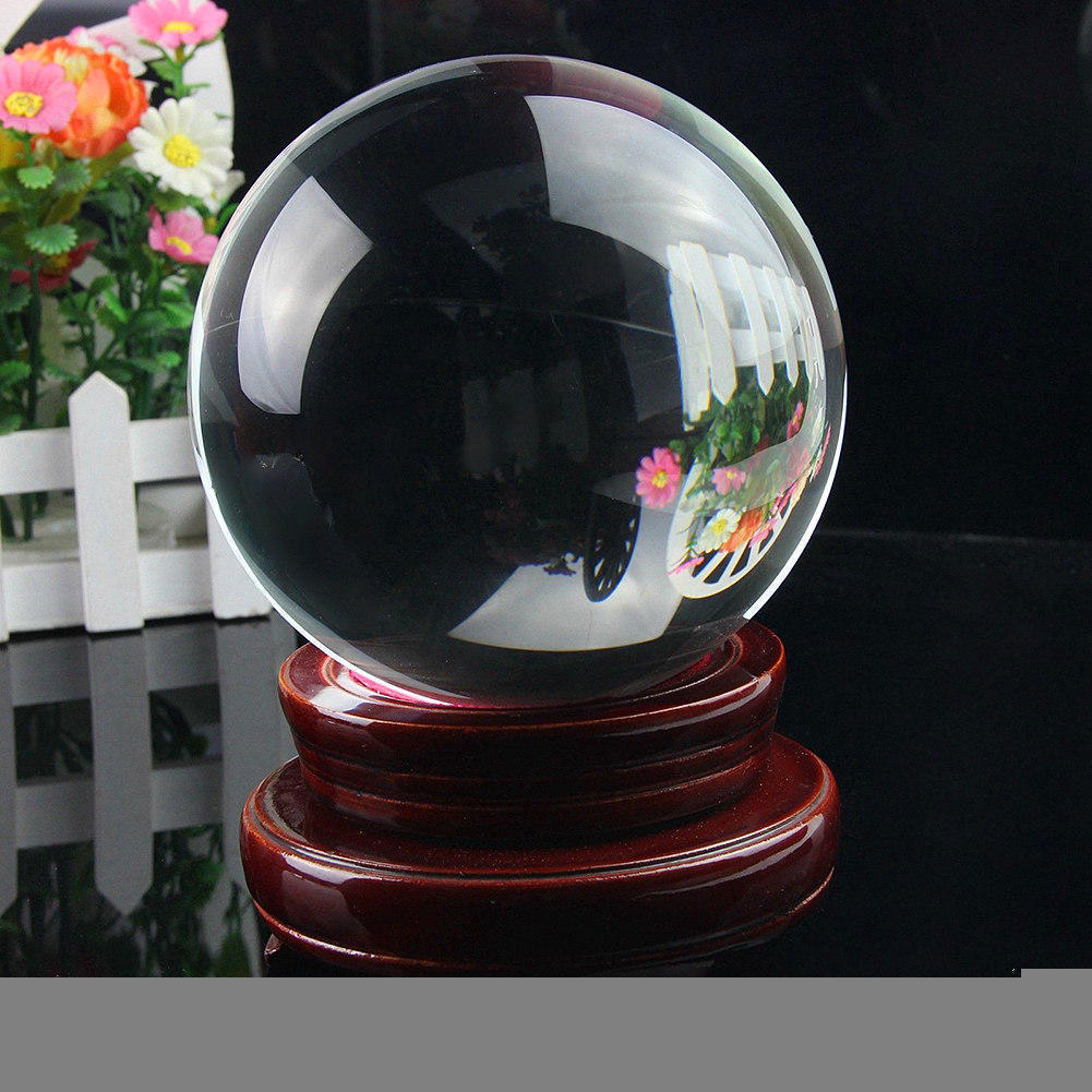Aliexpress buy mm clear balls magic crystal