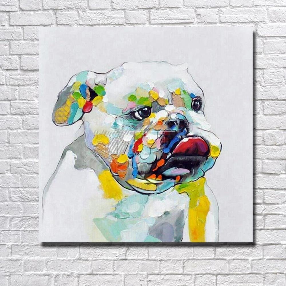 Moderne Hund Bilder Wandkunst Dekoration Wohnzimmer Dekorative Kunst ...