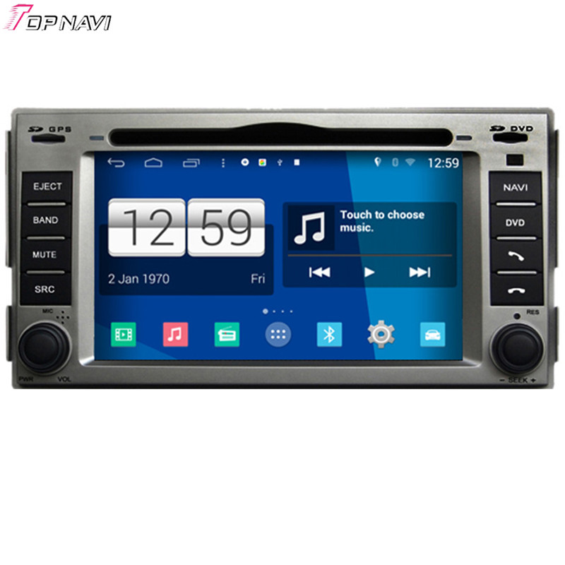 Free Shipping 6.2'' Quad Core S160 Android 4.4 Car Multimedia For Hyundai Santa fe With BT Wifi Stereo Radio GPS DVD Mirror Link