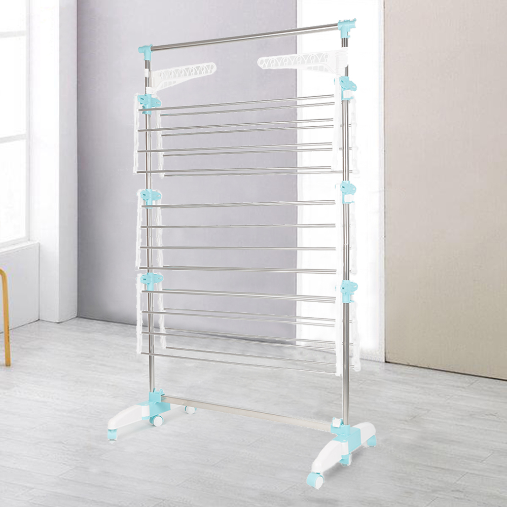 Multifunctional Clothes Neckties Hanger Holder Outdoor shelf organizer home organization and storage Wet Adjustable Drying Rack