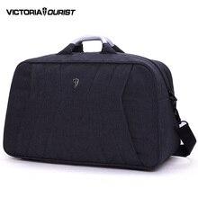 VICTORIATOURIST männer reisetaschen/euro stil seesack männer/reisetasche für männer/nylon reisetasche/freizeit schwarz V7008