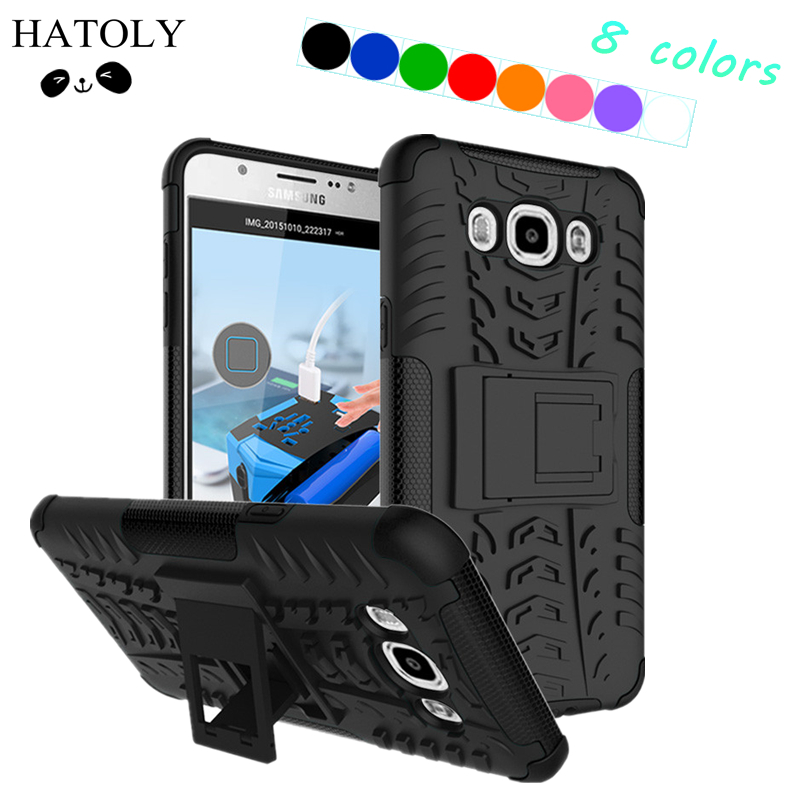 Samsung Galaxy J7 2016 Case Rubber Armour PC հեռախոսի Case for Samsung Galaxy A7 2018 Cover Case for Samsung Galaxy A30 A40 A50