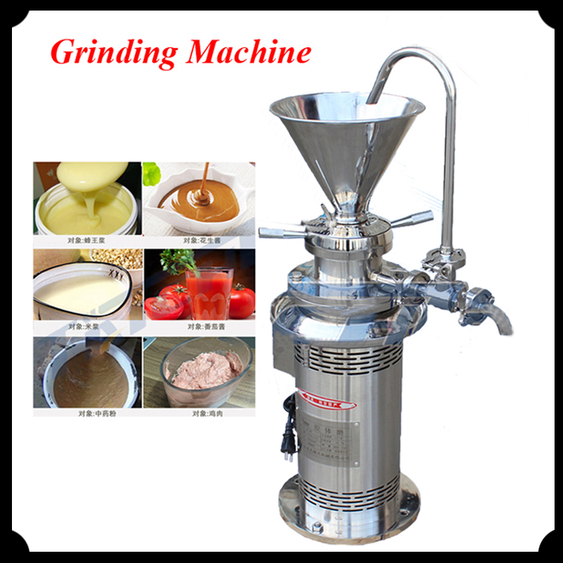 Colloid Mill Machine 3KW Stainless steel vertical Grinding Machine JML80 Industrial grinding machine thai silver earrings s925 zircon silver inlaid white female antique style earrings atmospheric water