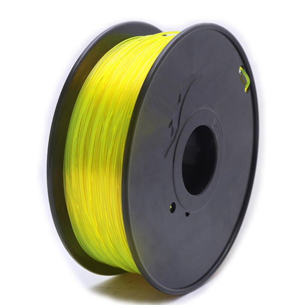 ФОТО 1china high quality 3d Printing material petg 1.75mm filament 1kg 2.2lb  petg 10 colors opt 3d printer filament petg plastic
