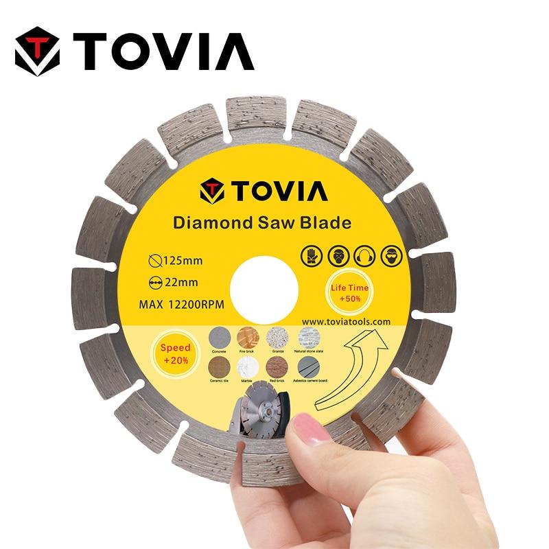 Image 4 - TOVIA Diamond Circular Saw Blades Diamond Saw Disc 125mm Cutting Stone Granite Marble Concrete Cutting Tool Blade-in Saw Blades from Tools