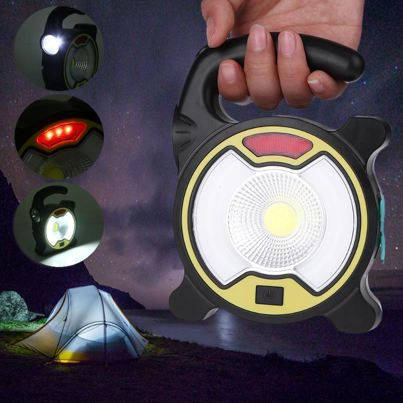 Portable IP44 Waterproof Solar Lamp Multifunction LED Lights Outdoor Camping Tent Night Light Emergency Lamps Power Bank
