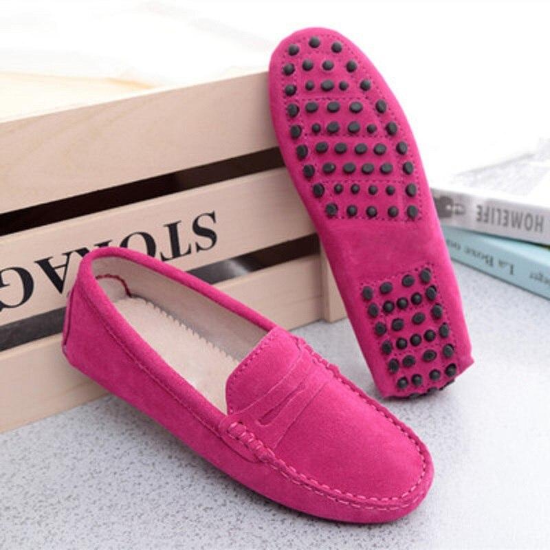 MoBeiNi Новый Женская кожаная обувь плоской подошве для беременных женщин Ремни моделей пары Повседневная круглый носок повседневная обувь бе...
