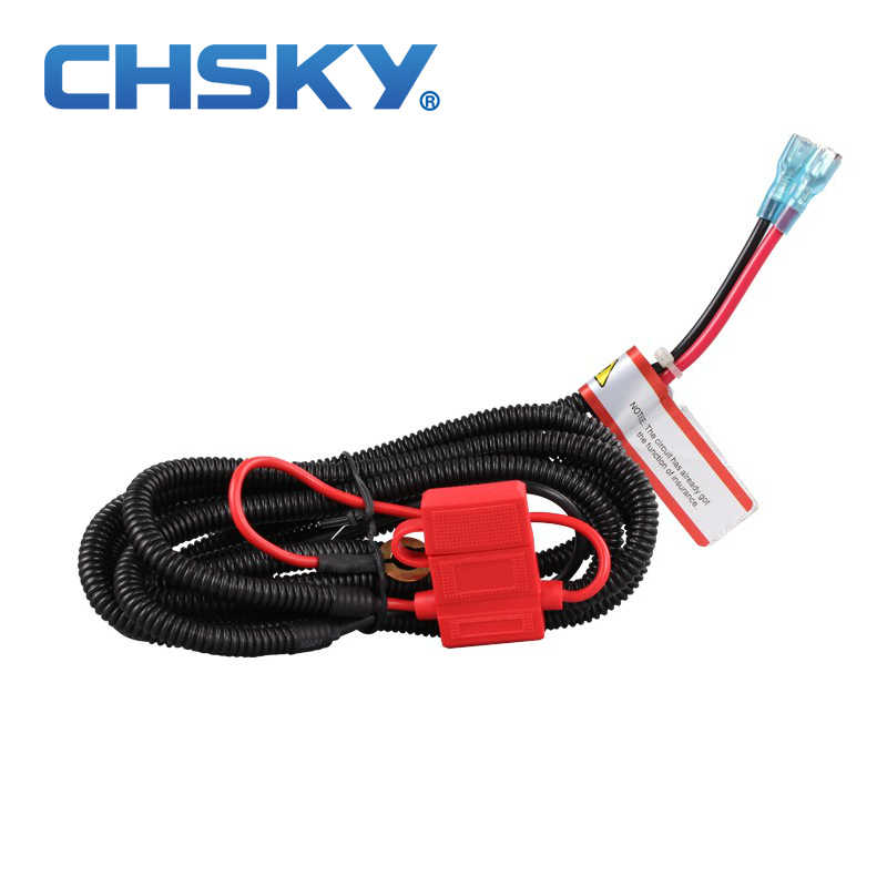 CHSKY High Quality Wiring Harness Suitable for Car USB Charger Adapter Car Cigarette Lighter Power Socket Easy to installation