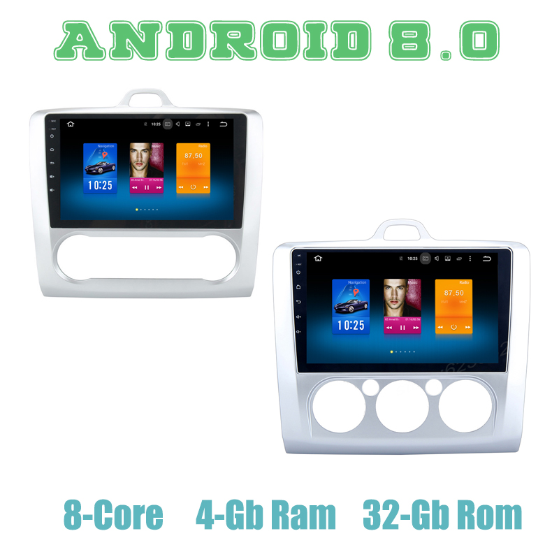 Android 9.0 car GPS <font><b>radio</b></font> player for <font><b>Ford</b></font> <font><b>focus</b></font> II 2004-2011 with Octa core px5 4G RAM wifi 4g usb <font><b>auto</b></font> Multimedia image
