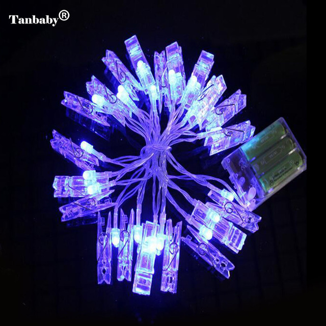 Tanbaby aa battery operated photo clip string led lights 2m or 5m tanbaby aa battery operated photo clip string led lights 2m or 5m indoor decoration rope for mozeypictures Choice Image