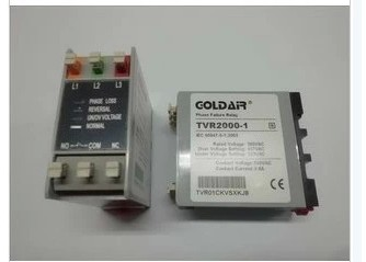цены  new original tvr2000-1 three-phase power protector goldair relay