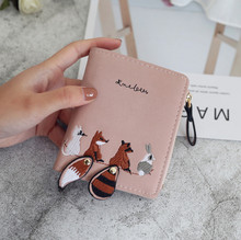 Women Wallets Purses Lovely Animals Wallets For Student Child Girl Money Coin Pocket Card Holder Female Wallets Clutch Bag 2019 wallets href