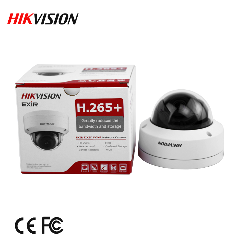 Image 2 - In stock english version Free shipping DS 2CD2185FWD I  8MP Network Dome Camera 120dB Wide Dynamic Range H.265 camerah.265 cameradome cameranetwork camera -
