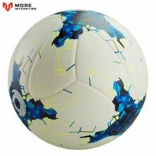 Nuovo Gioco del Calcio Per La Vendita League Formato Ufficiale 5 futbol sfera DELL'UNITÀ di elaborazione della Sfera di Cuoio obiettivo per Adolescenti e Adulti Partita di Formazione pallone da calcio