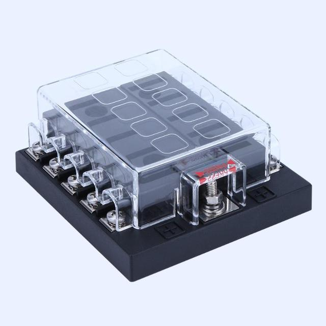 10 Way Car Modified Parts Fuse Box Fuse Holder with Medium Car Insert Automotive Car Truck_640x640 bwd voltage regulator wiring diagram wiring diagrams  at gsmx.co