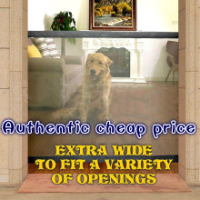 Authentic cheap The Ingenious New Mesh Magic Pet gate Safe Guard and Install anywhere Pet safety Enclosure