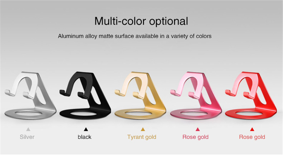 Metal Mobile Phone Holders Stands Universal Tablet Stand Desktop Holder For iPhone X 7 8 Plus For Samsung S9 Plus For Huawei (2)