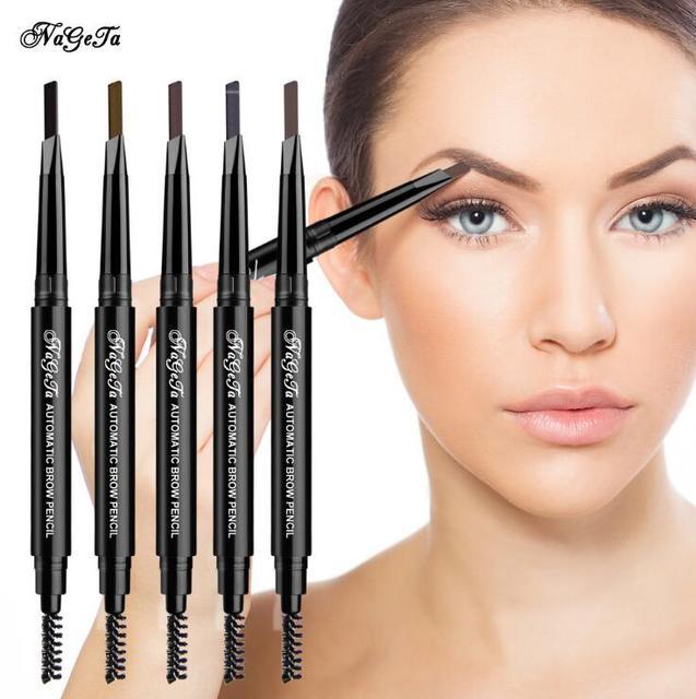 1 PC Women Waterproof Eye Liner Eyebrow Pen Pencil Eyebrow Eyeliner Makeup Cosmetic Beauty Tools 5 Colors