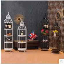 Custom-made American vintage tiehouse, a circular design for the living room I wine rack
