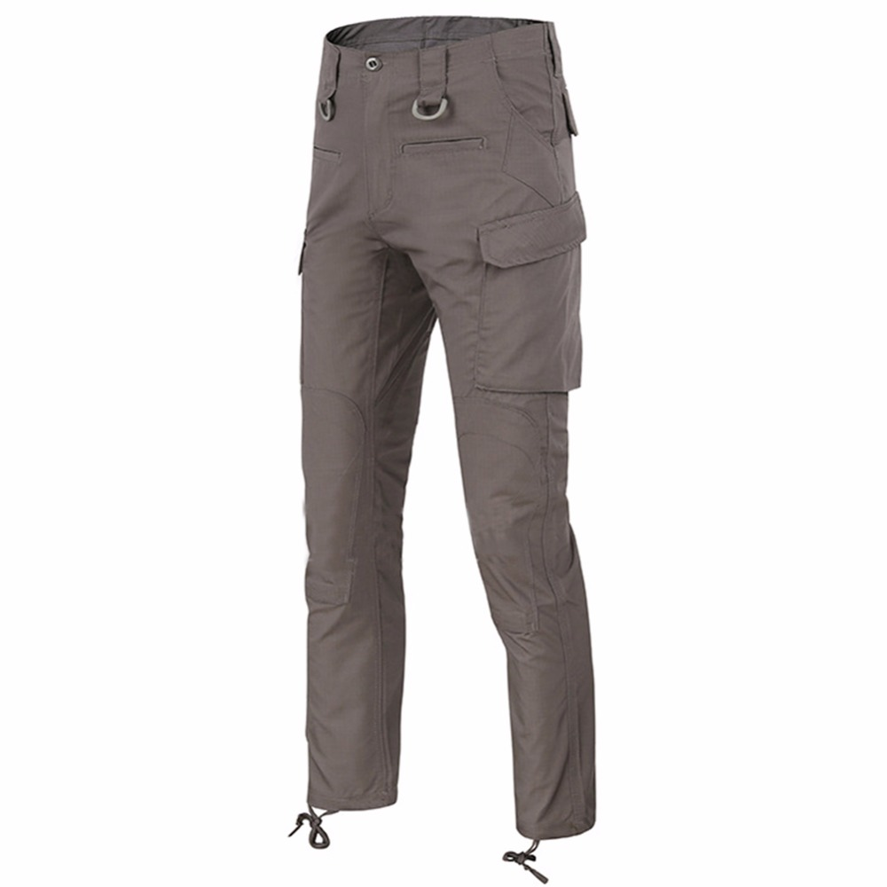 46741762e6 US $31.42 10% di SCONTO|LANBAOSI Combattimento Pantaloni Casual da Uomo  Camo Esercito Tattico Militare Mutanda Lavoro Cargo Pantaloni Multi Tasche  ...