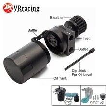 VR RACING-Шокированный алюминиевый маслоуловитель резервуар/масляный бак с фильтром Универсальный VR-TK64