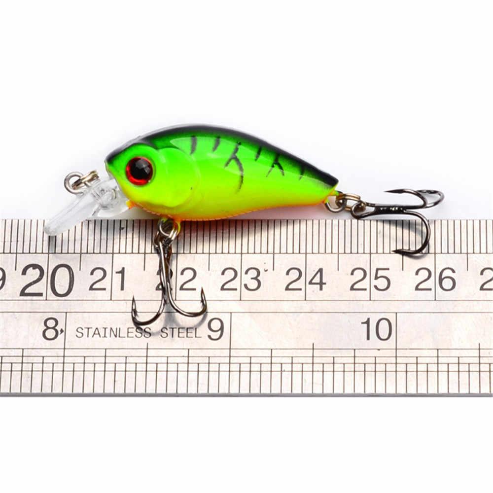 1 قطعة صغيرة cranbait Topwater الصيد إغراء 45 مللي متر 3.5 جرام الاصطناعي اليابان الثابت Wobblers الطعم الاصطناعي سمك السلمون المرقط بايك الكارب الصيد