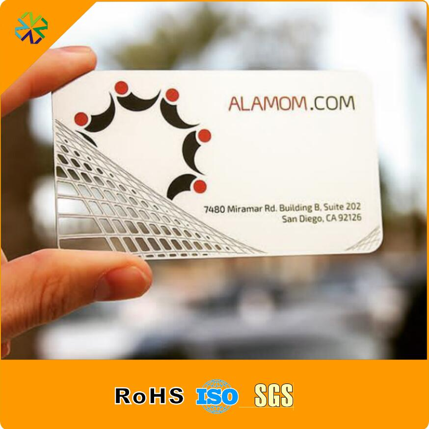 customized pvc business card visit card printing custom transparent ...