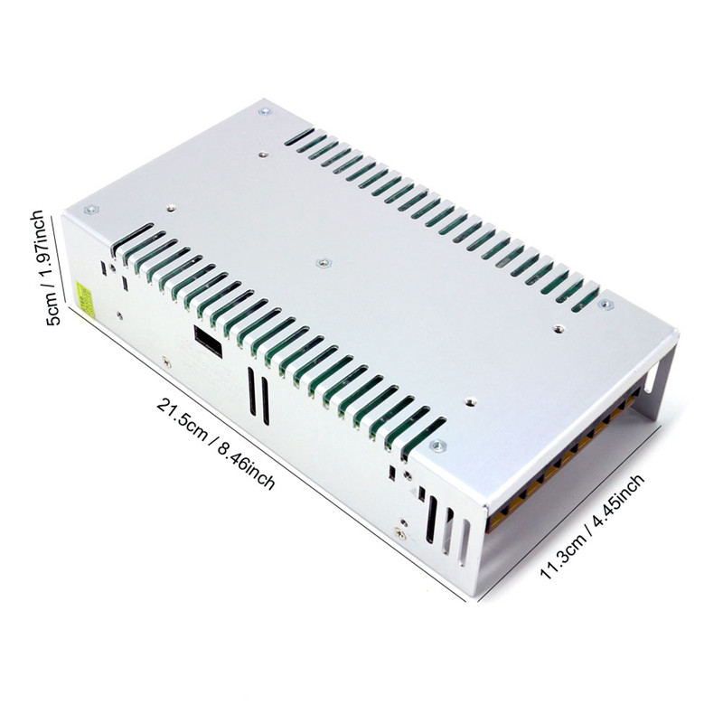 12V500W
