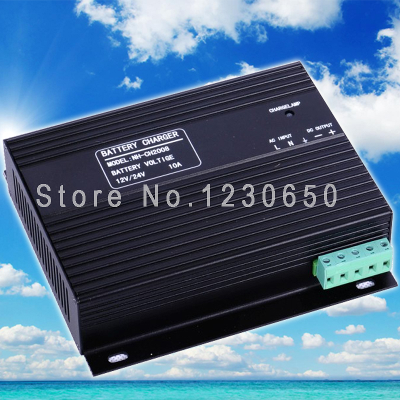 ФОТО 12V 24V automatic 10A Generator Battery Charger