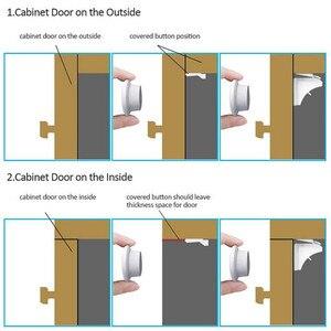 Image 3 - 3 + 12 חבילה מגנטי ילד בטיחות תינוק הגנת ארון דלת מנעול ילדים הלבשה מגירת אבטחת Invisible מנעולים