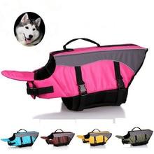 High Quality Large Dog Pet Life Jacket Breathable Mesh Safety Vest Swimwear Preserver H158