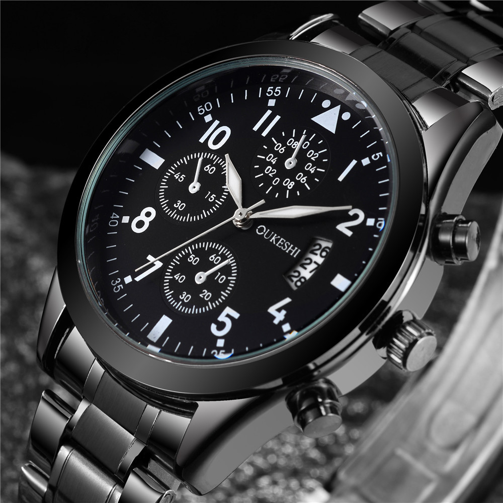 Watch Men 2017  Top Brand Luxury Quartz Watches Man Fashion Cusual Sport Business Clock Stainless Steel Men relogio masculino 2017 new top fashion time limited relogio masculino mans watches sale sport watch blacl waterproof case quartz man wristwatches