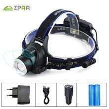 IR Sensor LED Lantern on the Head Induction Micro USB Rechargeable Lamp CREE XM L2 XML T6 Head Light 3800/5000 LM Head Torch