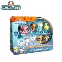 8pcs/lot Original Octonauts Action Figure Toy Barnacels Kwazii Peso Penguin Shellington Dashi Inkling Model Toys for Children
