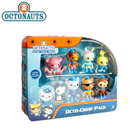 8pcs/lot Original Octonauts Action Figure Toy Barnacels Kwazii Peso Penguin Shellington Dashi Inkling Model Toys for Children