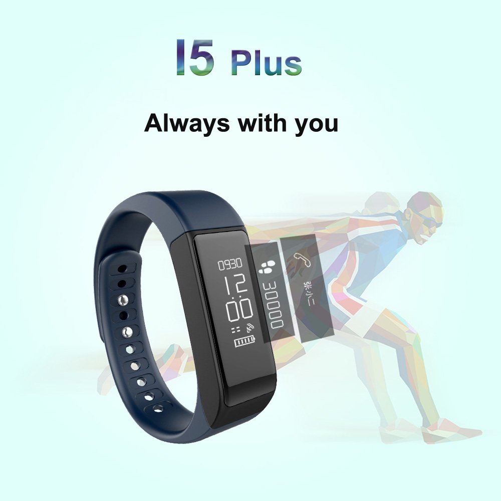I5 Plus Smart band Bracelet Bluetooth Waterproof Touch Screen Fitness Tracker Health Wristband Sleep Monitor Smart