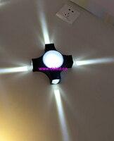 Gute qualität  4-seitige led-strahler  LED wandleuchte  LED wandleuchte  LED wandstrahler  110-240VAC.IP44  innenbereich. DS-08-20-7W