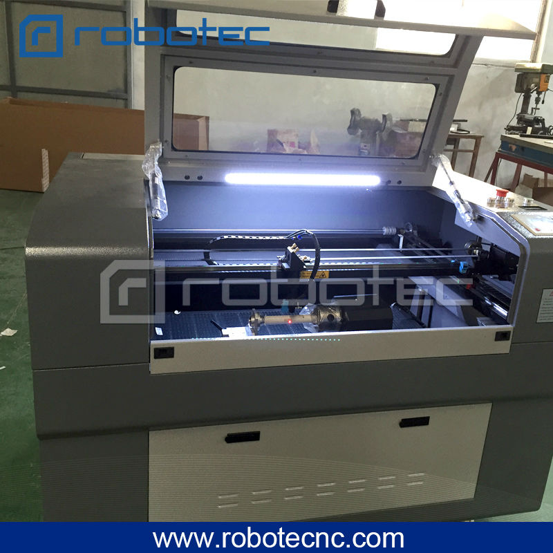 tagliatrice laser CO2 8060 best-seller 9060 per il taglio di - Attrezzature per la lavorazione del legno - Fotografia 4