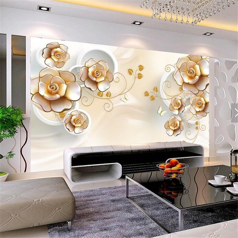 beibehang custom large wallpaper 3d portrait mural papel de parede
