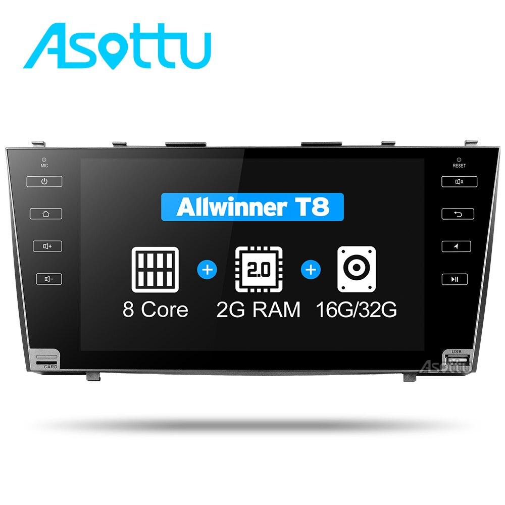 Asottu CLKMR9060 ips Android 7,1 2 г Автомобильный gps навигацией для Toyota camry 2008 2009 2010 2011 dvd-плеер автомобиля стерео радио gps