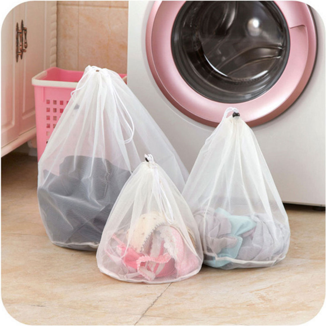 Hot Sale Practical Household Cleaning Tools Bra Underwear Products Laundry Bags Baskets Mesh Bag Accessories Laundry Wash Care