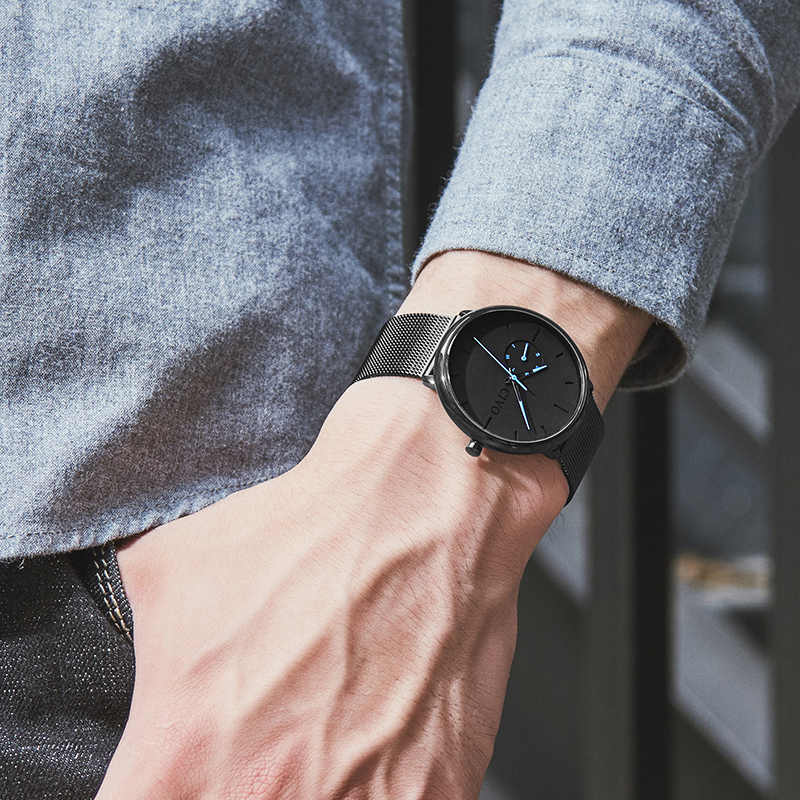 Relojes casuales de moda para hombre, relojes de pulsera deportivos a prueba de agua, relojes de cuarzo para hombre, reloj de regalo, reloj para hombre, reloj Masculino