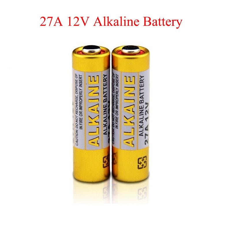 20pcs/lot 27A Battery 12V MN27 GP27A A27 L828 Battery For Doorbell Super Alkaline Batteries Remote control Flshalight