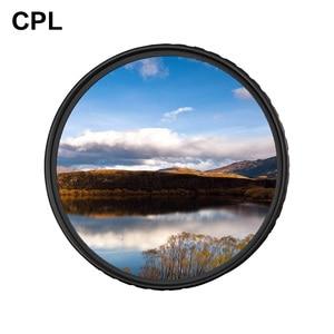 Image 1 - Zomei cplカメラフィルター円偏光cir pl用一眼レフカメラレンズ37/40。5/49/52/55/58/62/67/72/77/82/86ミリメートル