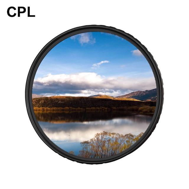 Zomei cplカメラフィルター円偏光cir pl用一眼レフカメラレンズ37/40。5/49/52/55/58/62/67/72/77/82/86ミリメートル
